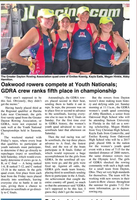 Girl's Quad in News