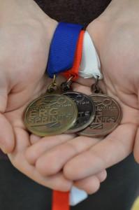 erg medals